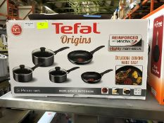 1 BOXED TEFEL ORIGINS 5PC COOKING SET PUBLIC VIEWING AVAILABLE & HIGHLY RECOMMENDED - IMAGES ARE FOR