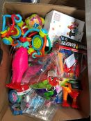 1 LOT TO CONTAIN AN ASSORTMENT OF MIXED TOYS PUBLIC VIEWING AVAILABLE & HIGHLY RECOMMENDED -