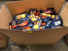 1 LOT TO CONTAIN A LARGE BOX OF PUMPKIN PARTY KITS PUBLIC VIEWING AVAILABLE & HIGHLY RECOMMENDED -