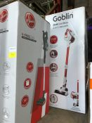 1 GOBLIN 2-IN-1 VACUUM AND 1X HOOVER H-FREE 100 PUBLIC VIEWING AVAILABLE & HIGHLY RECOMMENDED -