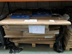 1 LOT TO CONTAIN AN ASSORTMENT OF OFFICE PRODUCTS / INCLUDING FLIP CHART EASLES, NOTICE/WHITEBOARDS,