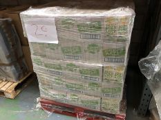 1 LOT TO CONTAIN APPROX 75 BOXES CONTAINING SUNMAGIC 100% APPLE JUICE - 12 X 1L PER BOX / BEST