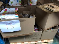 1 LOT TO CONTAIN AN ASSORTMENT OF PRINTING PRODUCTS / INCLUDING ARMOR LASTER PRINTING CARTRIDGES,