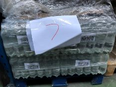 1 LOT TO CONTAIN 20 PACKS OF HARROGATE SPRING SPARKLING WATER - 24 X 500ML PER PACK / BEST BEFORE: