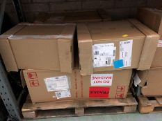 1 LOT TO CONTAIN 5 ASSORTED FILING CABINETS / COLOURS, SIZES AND CONDITIONS VARY (SOLD AS SEEN)