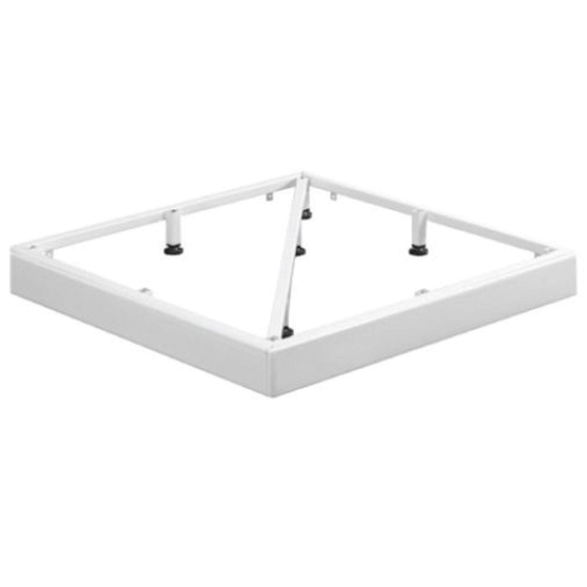 Lot 14 - SURFACE 760 X 760MM METAL FRAMED SHOWER TRAY FIXING KIT RRP £125