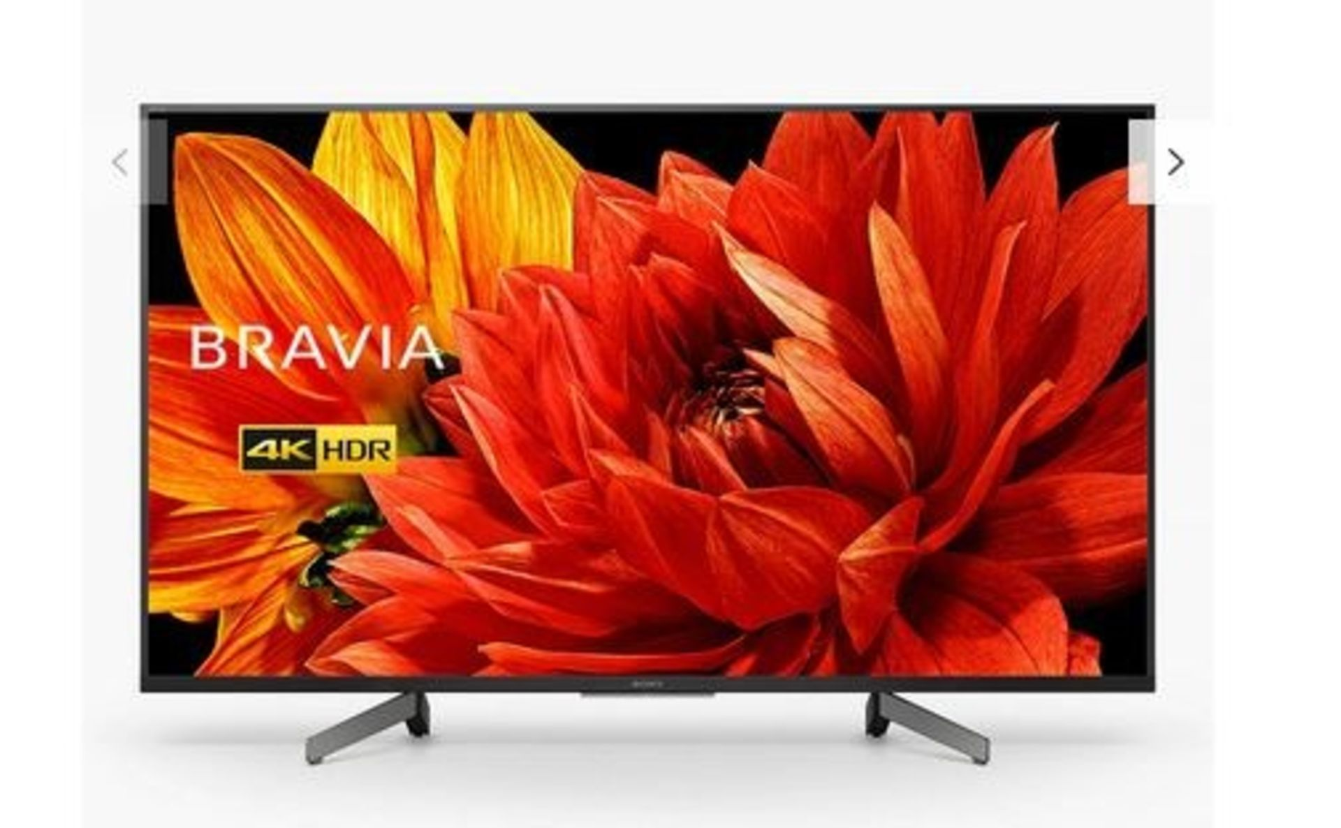 "Lot 1C - 1 BOXED AND TESTED SONY BRAVIA (2019) LED HDR 4K ULTRA HD SMART ANDROID 43"" TV - KD43XG8305 / RRP £"