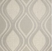 1 LOT TO CONTAIN 6 AS NEW ROLLS OF ARTHOUSE CURVE TAUPE WALLPAPER - 295102 / RRP £119.94