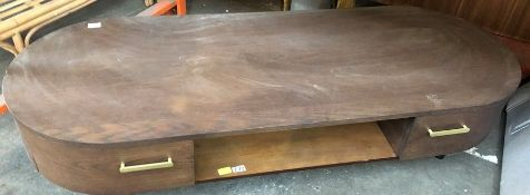 JOHN LEWIS MAHOGANY TV UNIT