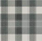 1 LOT TO CONTAIN 6 AS NEW ROLLS OF ARTHOUSE COUNTRY CHECK MONO WALLPAPER - 906703 / RRP £53.94