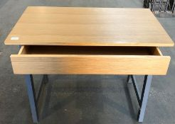 JOHN LEWIS TWO TONE GREY/OAK DESK