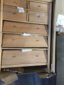 JOHN LEWIS ESSENCE WIDE 7 DRAWER CHEST OF DRAWERS