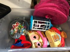 1 LOT TO CONTAIN AN ASSORTMENT OF KIDS TOYS (SOLD AS SEEN)