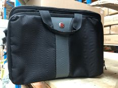 1 WENGER LAPTOP BAG / RRP £75.00 (SOLD AS SEEN)