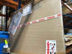 1 BOXED VERY LARGE WHITEBOARD (SOLD AS SEEN)