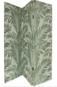 1 BOXED ARTHOUSE TROPICAL PALM ROOM DIVIDER (SOLD AS SEEN)