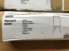 1 BOXED FLIPCHART EASEL (SOLD AS SEEN)