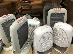 1 LOT TO CONTAIN A VERY LARGE ASSORTMENT OF UNTESTED HEATERS (SOLD AS SEEN)