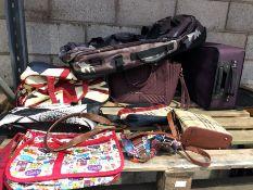1 LOT TO CONTAIN A LARGE ASSORTMENT OF BAGS (SOLD AS SEEN)