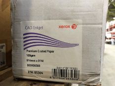 1 LONG BOXED SET OF CAD INKJET PREMIUM COATED PAPER (SOLD AS SEEN)
