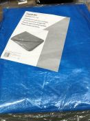 1 BAGGED TARPAULIN IN BLUE / SIZE: 5.4 X 7M (SOLD AS SEEN)