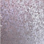 1 LOT TO CONTAIN 9 AS NEW ROLLS OF ARTHOUSE VELVET CRUSH FOIL WALLPAPER IN LILAC - 294302 / RRP £