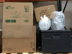 1 LOT TO CONTAIN AN ASSORTMENT OF KITCHEN AND COOKWARE GEAR / INCLUDING THERMO FUTURE BOX, BOX OF