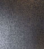 1 LOT TO CONTAIN 12 AS NEW ROLLS OF ARTHOUSE KASHMIR TEXTURE WALLPAPER IN NAVY GOLD - 910304 /