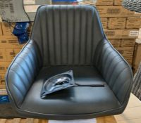 JOHN LEWIS BROOKS OFFICE CHAIR IN CHARCOAL