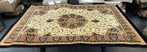 LA REDOUTE TRADITIONAL PERSIAN BLACK/CREAM