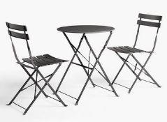 JOHN LEWIS CAMDEN GARDEN BISTRO TABLE AND CHAIRS SET