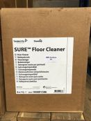 1 LOT TO CONTAIN 1 BOX OF SURE FLOOR CLEANER CONTAINS 6 X 1L BOTTLES