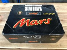 1 LOT TO CONTAIN 2 BOXES OF MARS BARS - 48 MARS PER BOX / BEST BEFORE 07-06-20