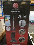 1 BOXED HOOVER WHIRLWIND UPRIGHT BAGLESS HOOVER / RRP £69.99 / CONDITION REPORT: STILL IN ORIGINAL