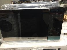 1 HOTPOINT MWH 2734 B COMBINATION MICROWAVE OVEN / RRP £149.99 / CONDITION REPORT: STILL IN ORIGINAL