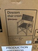 HOUSE BY JOHN LEWIS GARDEN DIRECTORS CHAIR