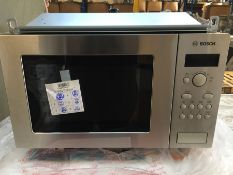 1 BOSCH HMT75M551B BUILT IN MICROWAVE / RRP £309.00 / CONDITION REPORT: STILL IN ORIGINAL PACKAGING,