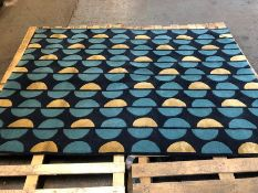 LA REDOUTE ALANDRA TUFTED WOOL AND VISCOSE MIX RUG