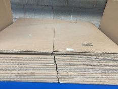 1 LOT TO CONTAIN 17 PRESSEL FLATPACK CARDBOARD BOXES MEDIUM SIZE