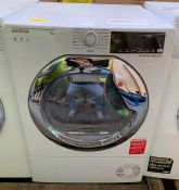 HOOVER DXC9TCE FREESTANDING CONDENSER TUMBLE DRYER, 9KG LOAD