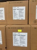 1 LOT TO CONTAIN 3 X BOXES OF SURE GRILL CLEANER - 2 X5L BOTTLES PER BOX