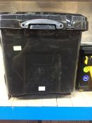 "1 LOT TO CONTAIN 160 L ""REALLY USEFUL"" WHEELED STORAGE CONTAINER BLACK"