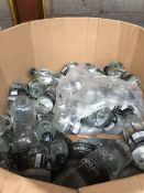 1 LOT TO CONTAIN ASSORTED BOTTLES OF WATER BB MAR 2022 APPROX 70 L IN DIFFERENT SIZED BOTTLES