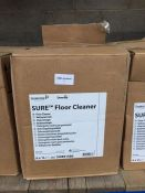1 LOT TO CONTAIN 3 BOXES OF SURE FLOOR CLEANER - 6 X 1L BOTTLES PER BOX