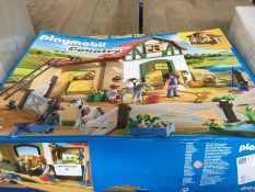 1 LOT TO CONTAIN PLAYMOBIL 6927 COUNTRY PONY FARM