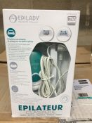 1 LOT TO CONTAIN 1 ELECTRIC EPILATOR WITH 28 TWEEZERS