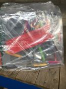1 LOT TO CONTAIN 24 PIECE MULTICOLOURED CUTLERY SET / STAINLESS STEEL