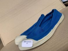 1 PAIR OF SLIP ON TRAINERS / SIZE 41 / RRP £26.00