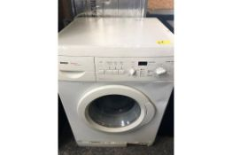 1 LOT TO CONTAIN AN UNTESTED BOSCH WF02465GB/01 WASHING MACHINE / RRP £249.99 / USED, LARGE DINT
