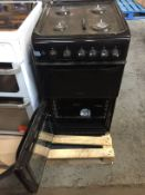 1 LOT TO CONTAIN AN UNTESTED HOTPOINT HD5G00KCB GAS DOUBLE OVEN COOKER / RRP £297.00 / ITEM IS